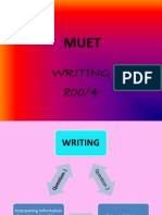 MUET Writing 1