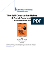 The Self Destructive Habits of Good Companies PDA