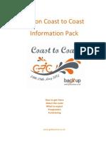Devon C2C 2012 Cyclist Info Pack