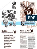Ferndale High School 50th Anniversary Booklet