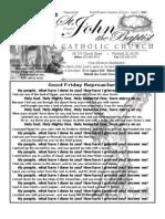 Bulletin April 1, 2012