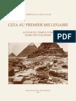 Zivie-Coche, Giza au Premier Millenaire. Autour du temple d'Isis dame des pyramides