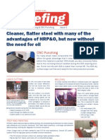 SCS Briefing - Laser Cutting & PNC Punching - Issue 1