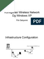 Konfigurasi Wireless Network Dg Windows Xp