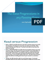 The Base Progressions in Any Passing Game