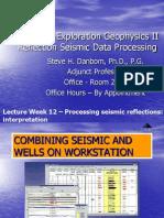 Seismic Processing II