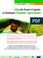 ITC Final Report on Organic Agriculture Thailand 1 Sept 2006 Repaginated