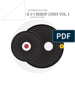 Jazz Improvisation Series 100 II v I Jazz Lines VOL I by JK Chang