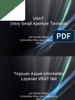 Presentasi Vsat Net New