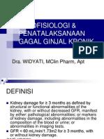 Bu Widy_ginjal (Patofisiologi & Penatalaksanaan Ggk)