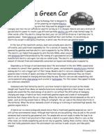 green car article