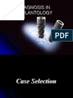 Diagnostic Tools in Implantology