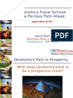 Oklahoma Fiscal Outlook - March 2012