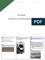 Maria Montessori: quadro sinottico di storia e pedagogia del '900