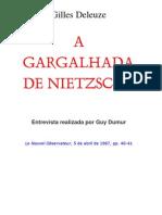 Gilles Deleuze = a a de Nietzsche
