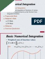 Integration Lecture9