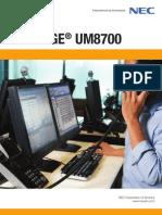 SW10021 UM8700 Brochure