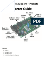 GSM GPRS Modem - Starter Guide