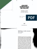 Barthes-Análisis estructural relato
