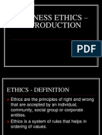 Business Ethics - Intro