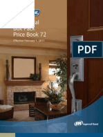 Schlage Residential Price Book 72 Feb 1 2011