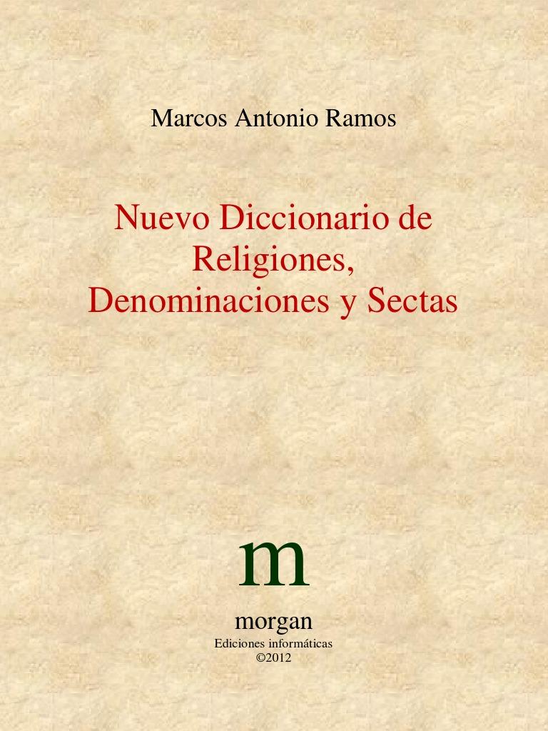 Marcos Antonio Ramos - Nuevo Diccionario de Religiones ...