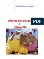 Ricette Pasqua e Pasquetta