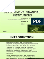 Development Financial Institutions