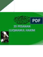 25 Pesanan Luqman alHakim