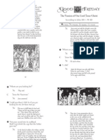 Good Friday - Passion of St. John Booklet PDF Printable