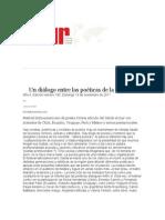 Un diálogo entre las poéticas de la región SALIDA AL MAR 2011