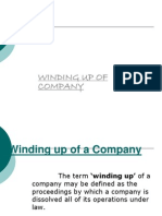 11-Winding Up of Companies