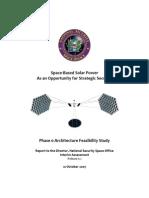 Space-Based Solar Power - Interim Assesment 0.1