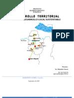 Desarrollo Territorial MITUR