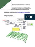 Parametric Space Frame Tutorial Using Paneling Tools