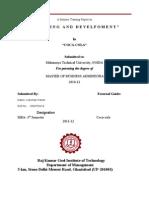 Training and Development Skill Gap Analysis Coca-cola
