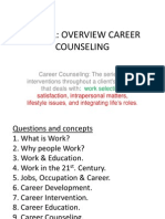 CAREER IN COUNSELING BY HASBULLAHHIDAYAH