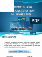 Momentum and the Conservation of Linear Momentum