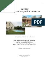 Kaizen para los pequeños hoteles