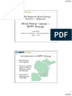 WPPI AWEA Midwest Wind Energy Summit 3-7-12