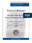 Audit on town of Ramapo