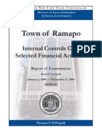 Audit on town of Ramapo