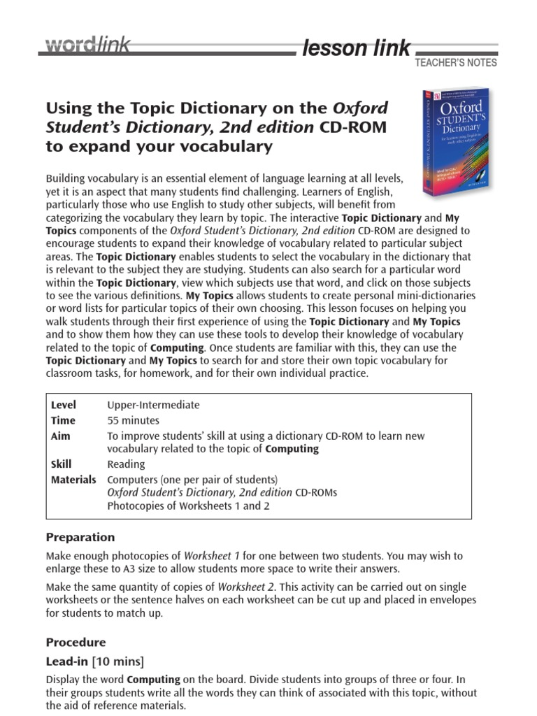 Workbooks using a dictionary worksheets : Owl Lesson1 Mar12 | Vocabulary | Email