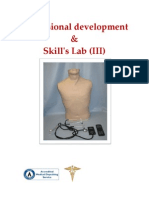 Professional Development & Skill's Lab (III)