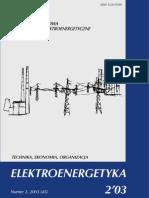 Energetyka odnawialna Regulacja napięć i mocy biernej Jakość izolatorów ceramicznych