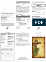 Bulletin - 20120401-Palm Sunday