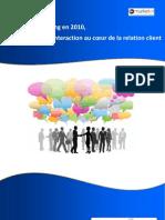 Etude Vente Marketing 2010