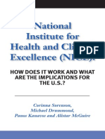 National Institute for Health and Clinical Excellence (NICE)