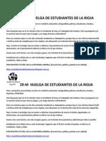 29M HUELGA DE ESTUDIANTES LOGROÑO