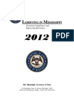 2012 MS Lobbying Guide MS Sect of State
